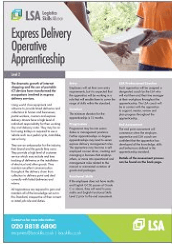 Express Delivery Operative Apprenticeship