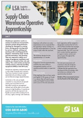 Supply Chain Warehouse Operative Apprenticeship