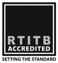 RTITB Accredited Logo 118x128 GS